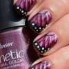 A Chic Nail Art Design–Butterfly Wing