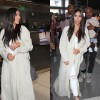 Kim Kardashian's Long Dark Brown Tresses Are Back–Hair Extensions Style Again