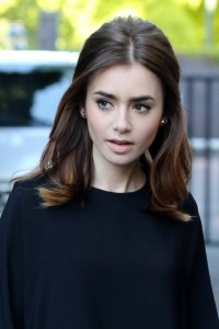 Lily Collins Sighting In London - August 19, 2013
