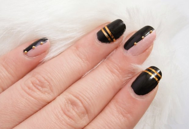 Nail art tutorialcool striping tape nail art design prinsesfo Images