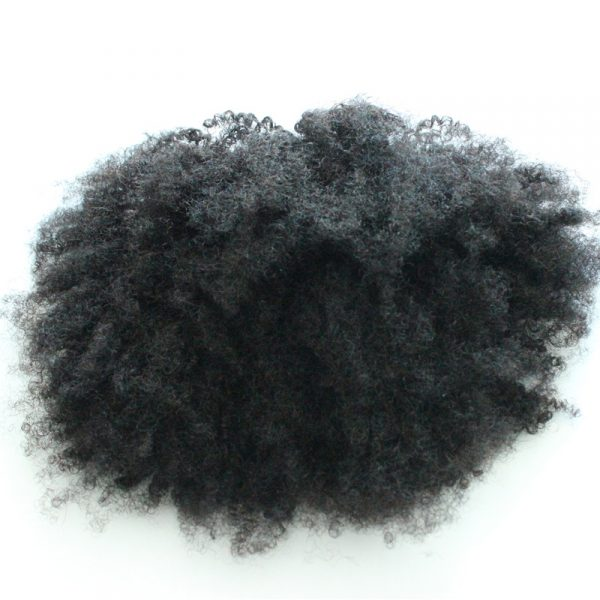 Afro Kinky Curly Ponytail Human Hair Extensions