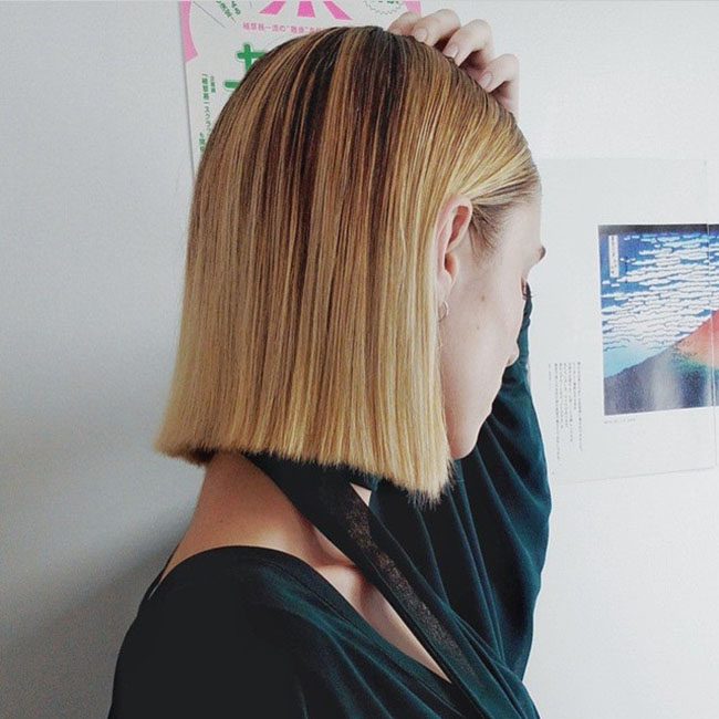 Give a Trendy Short Blunt Cut to Your Bob
