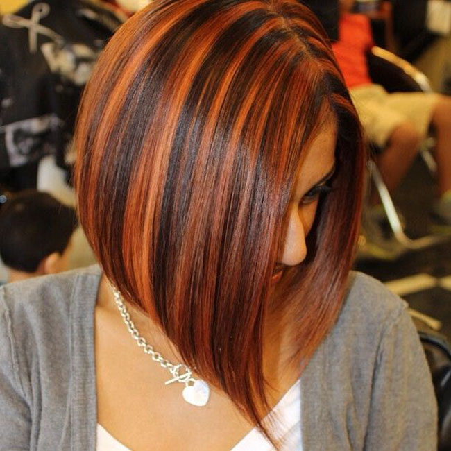 Highlight Bob Hairstyle