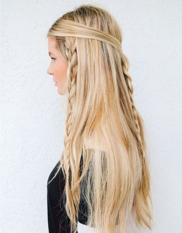 Hippie Inspired Hairstyle